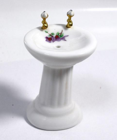 画像1: 洗面台・お花ワンポイント