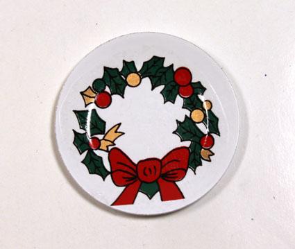 画像1: クリスマスウォールプレート(特価)