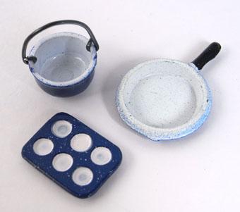 画像1: ブルー鍋&マフィン型