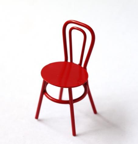 画像1: 赤いミニイス