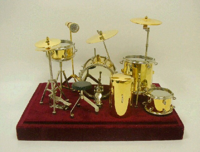 画像1: ドラムセット