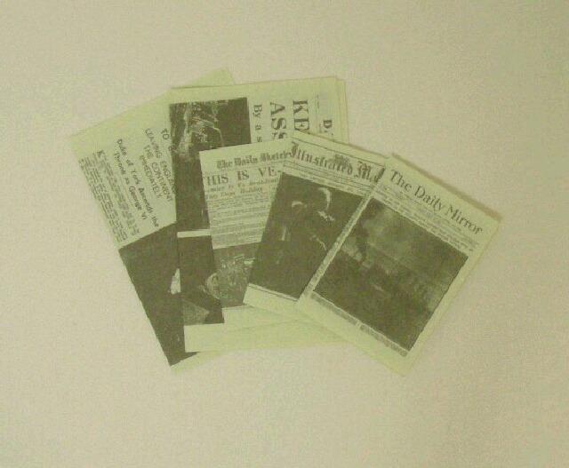 画像1: ニュースペーパー5枚