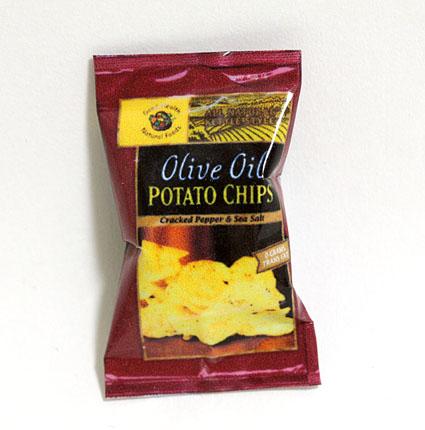 画像1: ポテトチップス・オリーブオイル