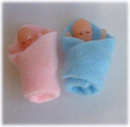 画像1: 赤ちゃん・男の子女の子セット