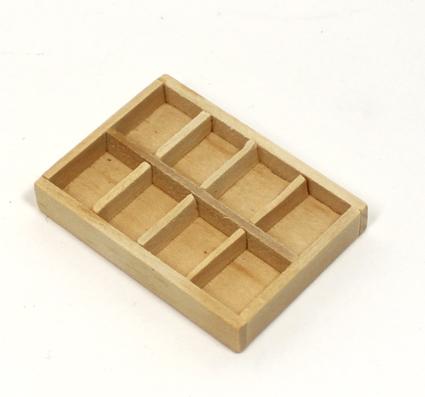 画像1: 仕切木箱