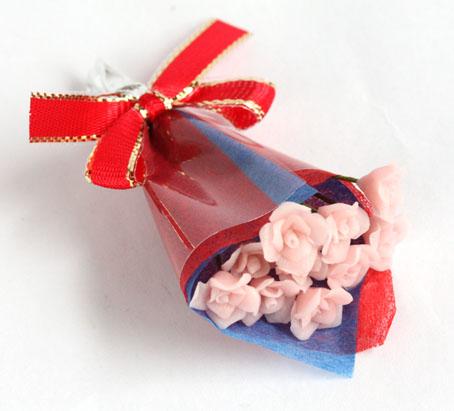画像2: バラ花束・ピンク