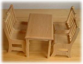 画像1: テーブルのみ・ナチュラル
