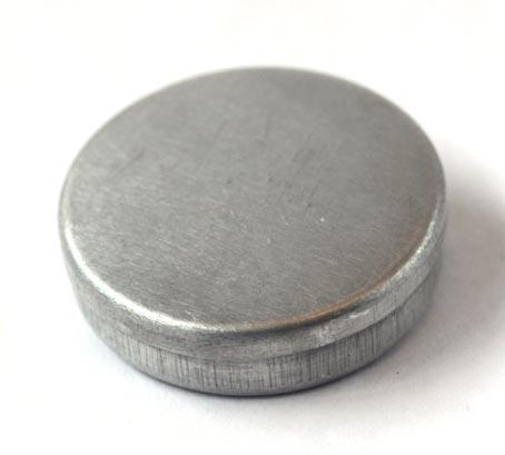 画像2: 丸缶シルバー1個