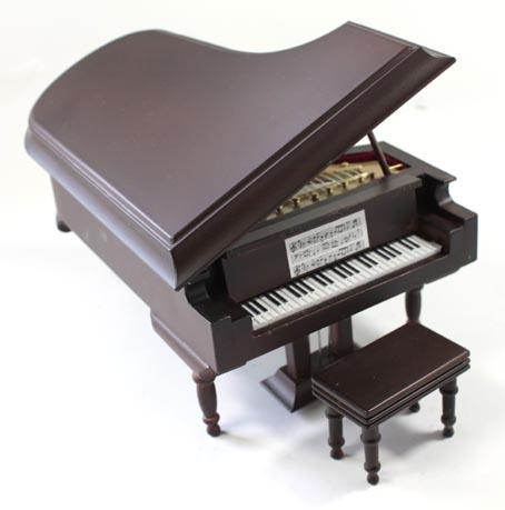 画像1: グランドピアノ茶・ツヤ消し