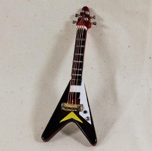 画像1: エレキギター・V・ブラウン
