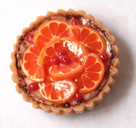 画像1: オレンジのタルト・L