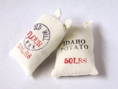 画像1: 布袋2個セット