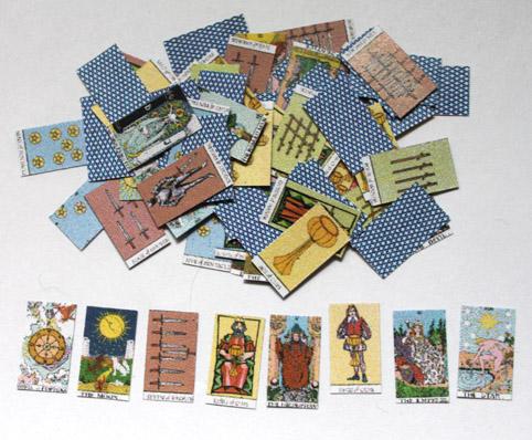 画像1: タロットカード